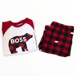 CHILDREN'S PLACE | Matching Family Bear Pyjamas